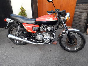 Benelli LS 500 1977 [Project with Engine Running]