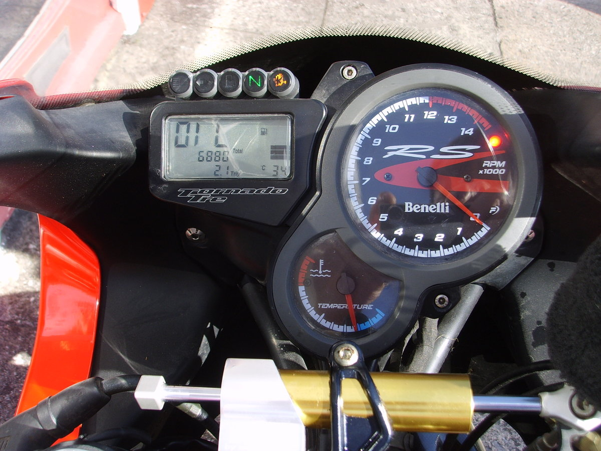 Benelli Tornado 900 TRE RS 2007 only 6880 miles 1 prev owner For Sale (picture 4 of 6)