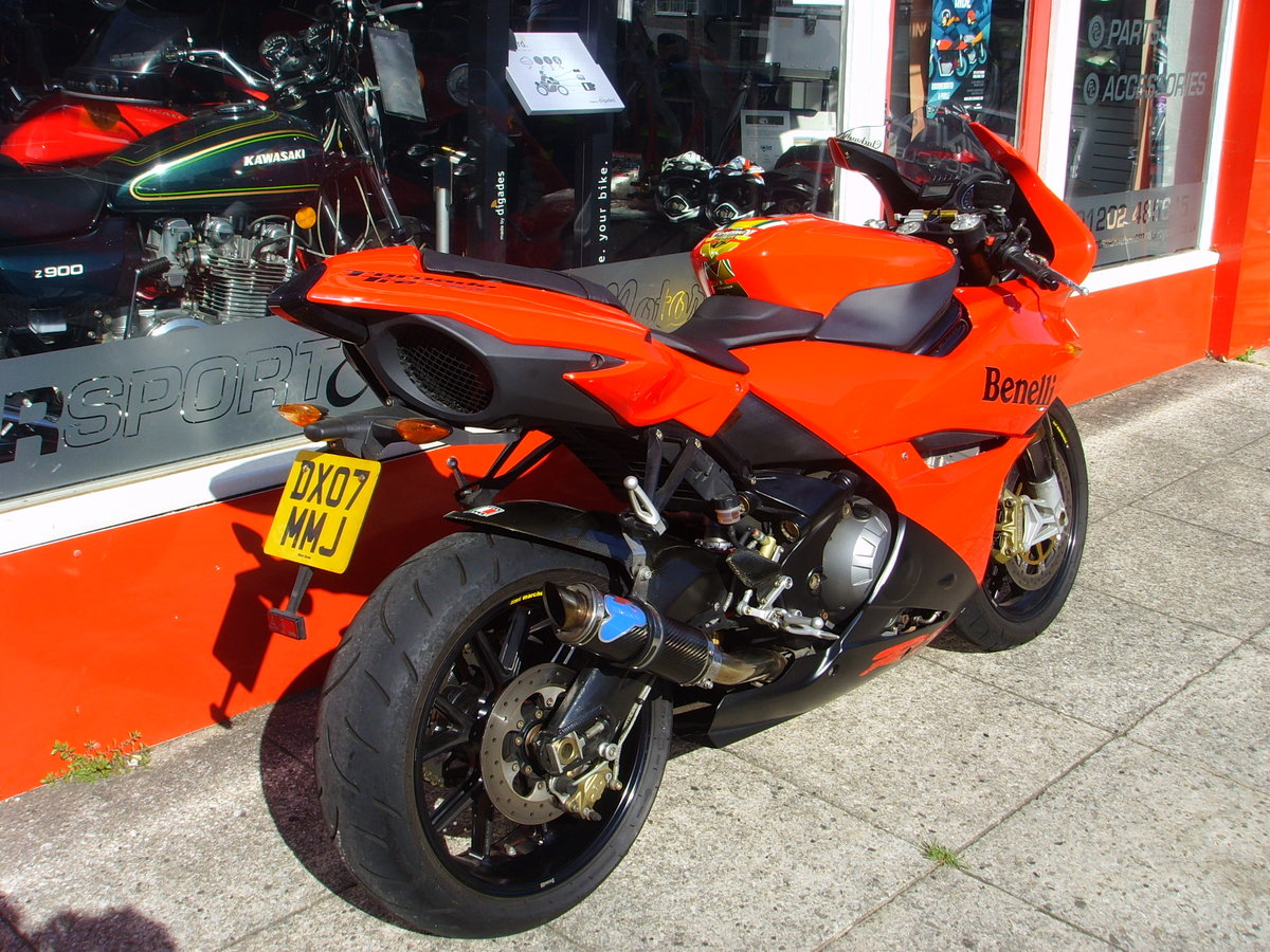 Benelli Tornado 900 TRE RS 2007 only 6880 miles 1 prev owner SOLD (picture 5 of 6)