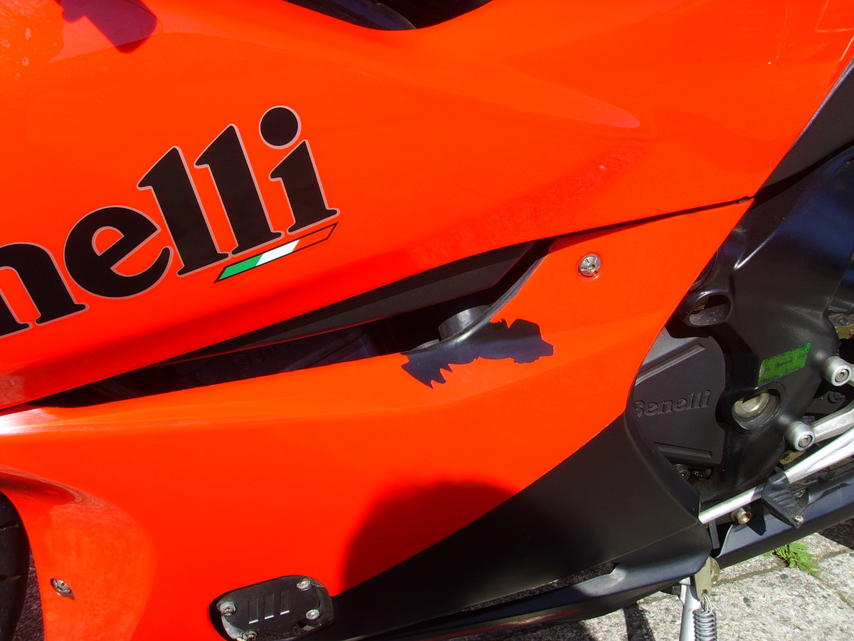 Benelli Tornado 900 TRE RS 2007 only 6880 miles 1 prev owner SOLD (picture 6 of 6)