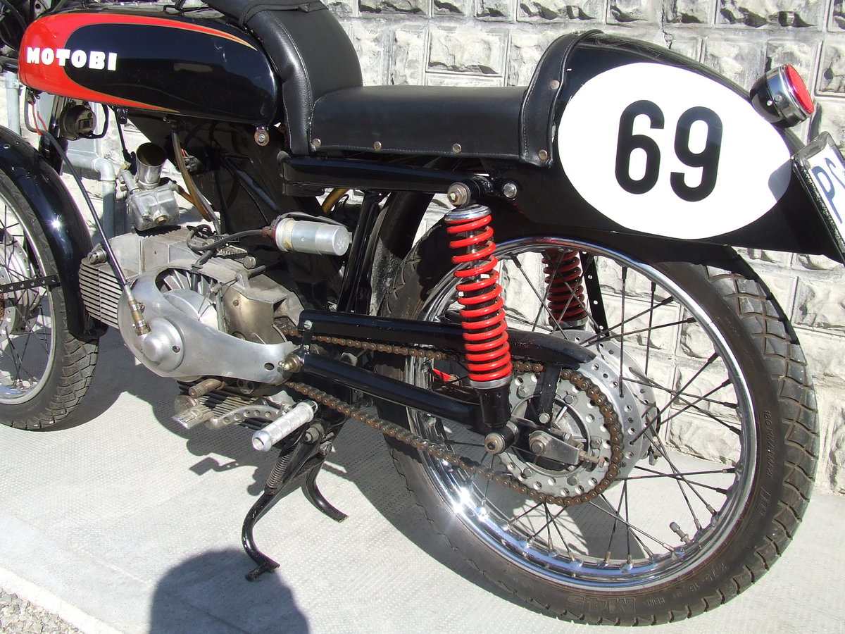 1962 MotoBi 175 Sport Racebike, drove the Milano-Taranto race For Sale (picture 3 of 6)