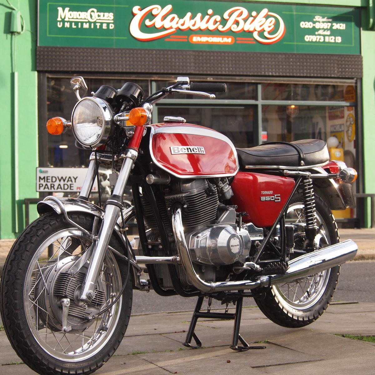 1972 Benelli 650S Tornado Electric, RESERVED FOR JOHN. SOLD (picture 1 of 6)