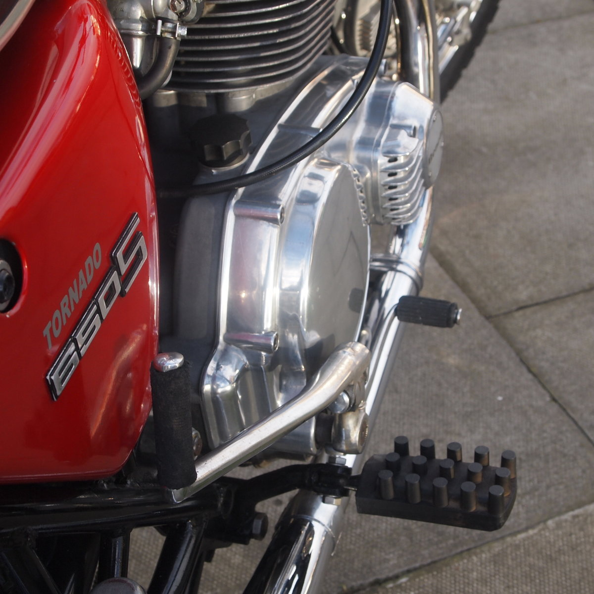 1972 Benelli 650S Tornado Electric, RESERVED FOR JOHN. SOLD (picture 2 of 6)