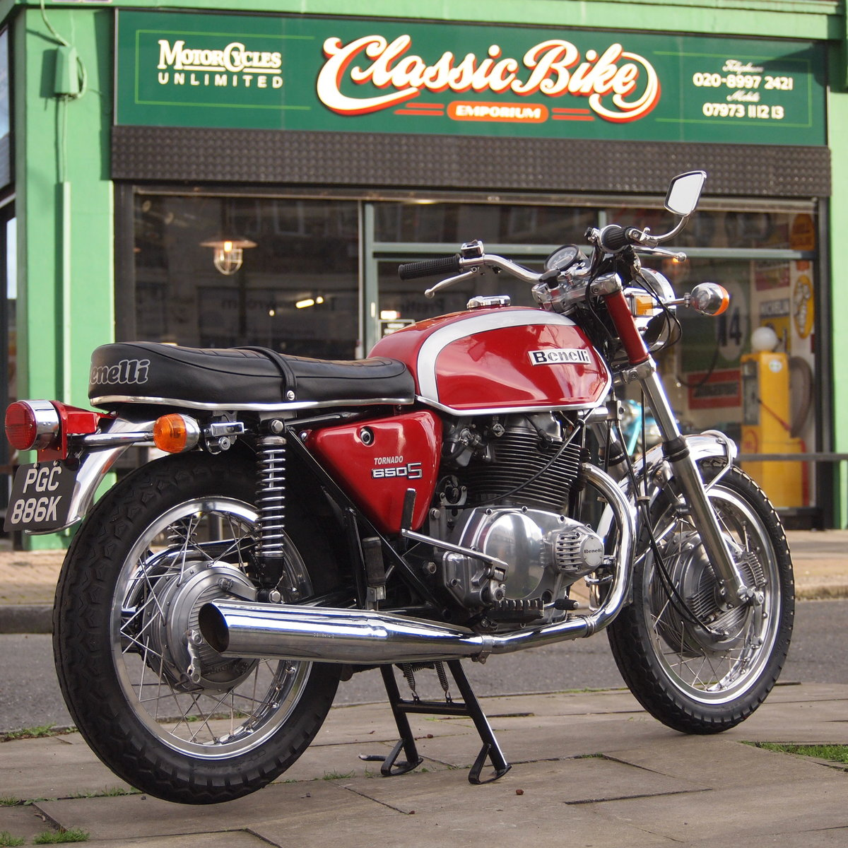1972 Benelli 650S Tornado Electric, RESERVED FOR JOHN. SOLD (picture 3 of 6)