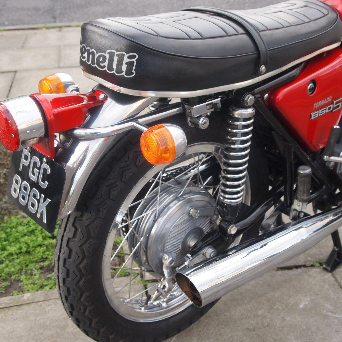 1972 Benelli 650S Tornado Electric, RESERVED FOR JOHN. SOLD (picture 5 of 6)