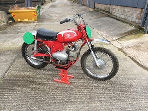 1978 Motobi 175 six days zanzani scrambler