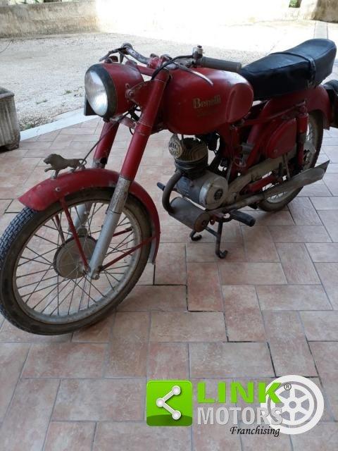 1954 Benelli Leoncino 125 cc For Sale (picture 1 of 6)