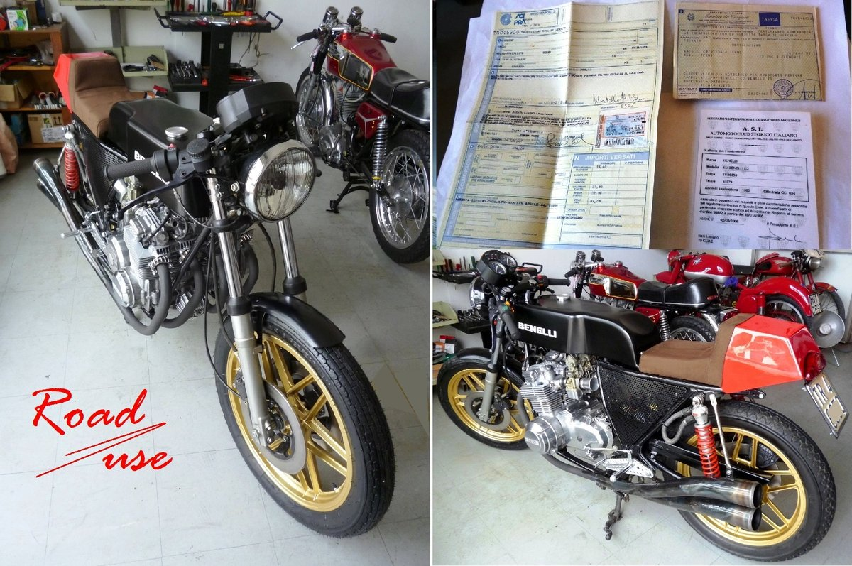 1983 Benelli 500 GP replica For Sale (picture 6 of 6)