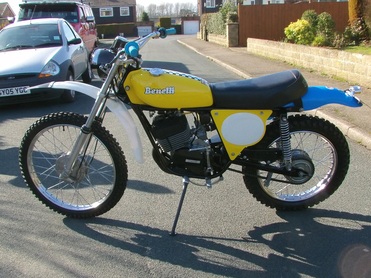 1978 1977 Benelli 125 cross For Sale (picture 2 of 6)