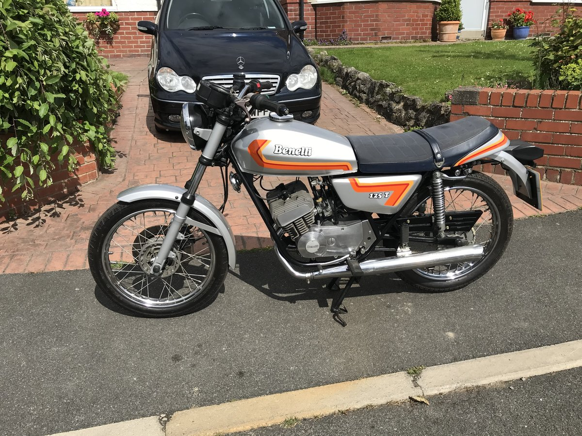 1978 Benelli 125 T Very Nice Condition For Sale (picture 1 of 6)