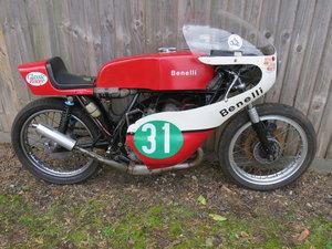 1974 Benelli 2c race bike