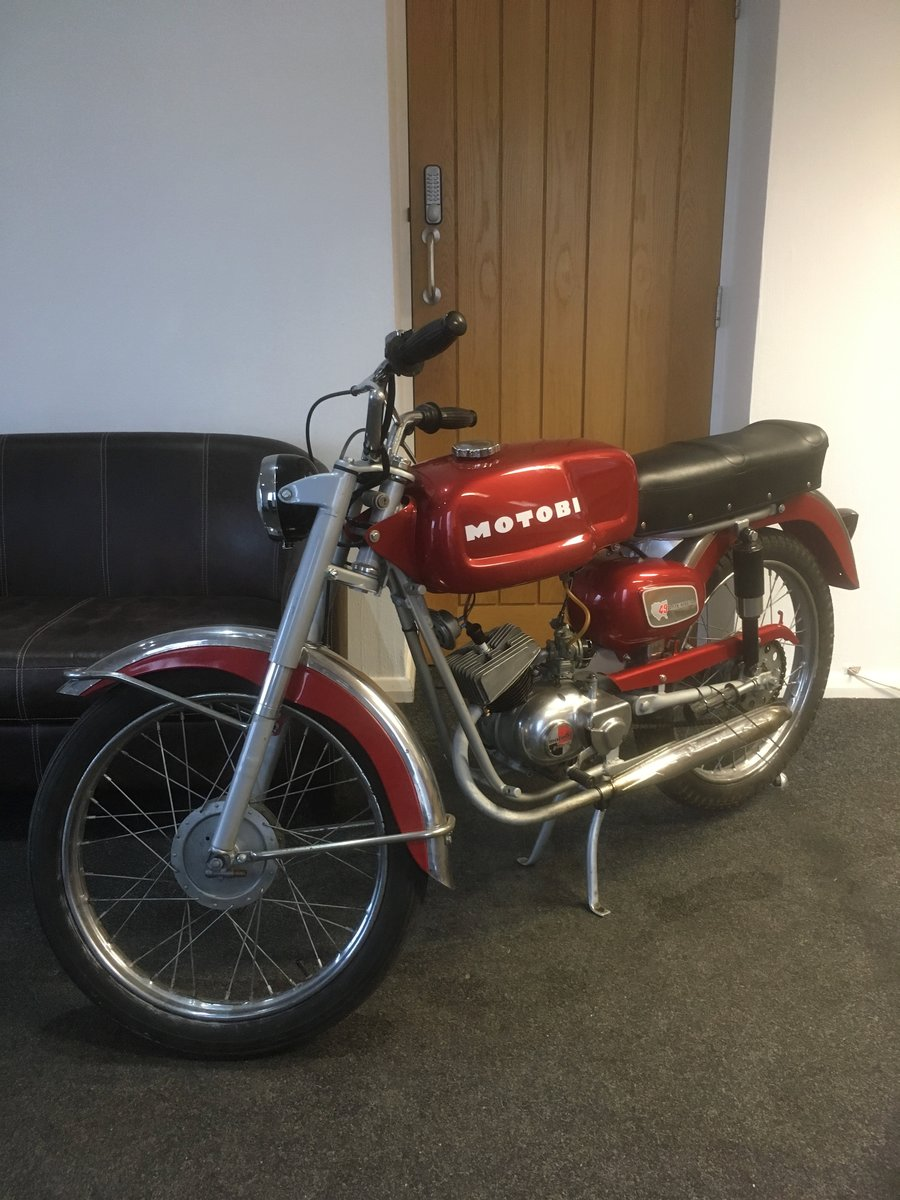 1968 Motobi Benelli 50cc For Sale (picture 1 of 6)