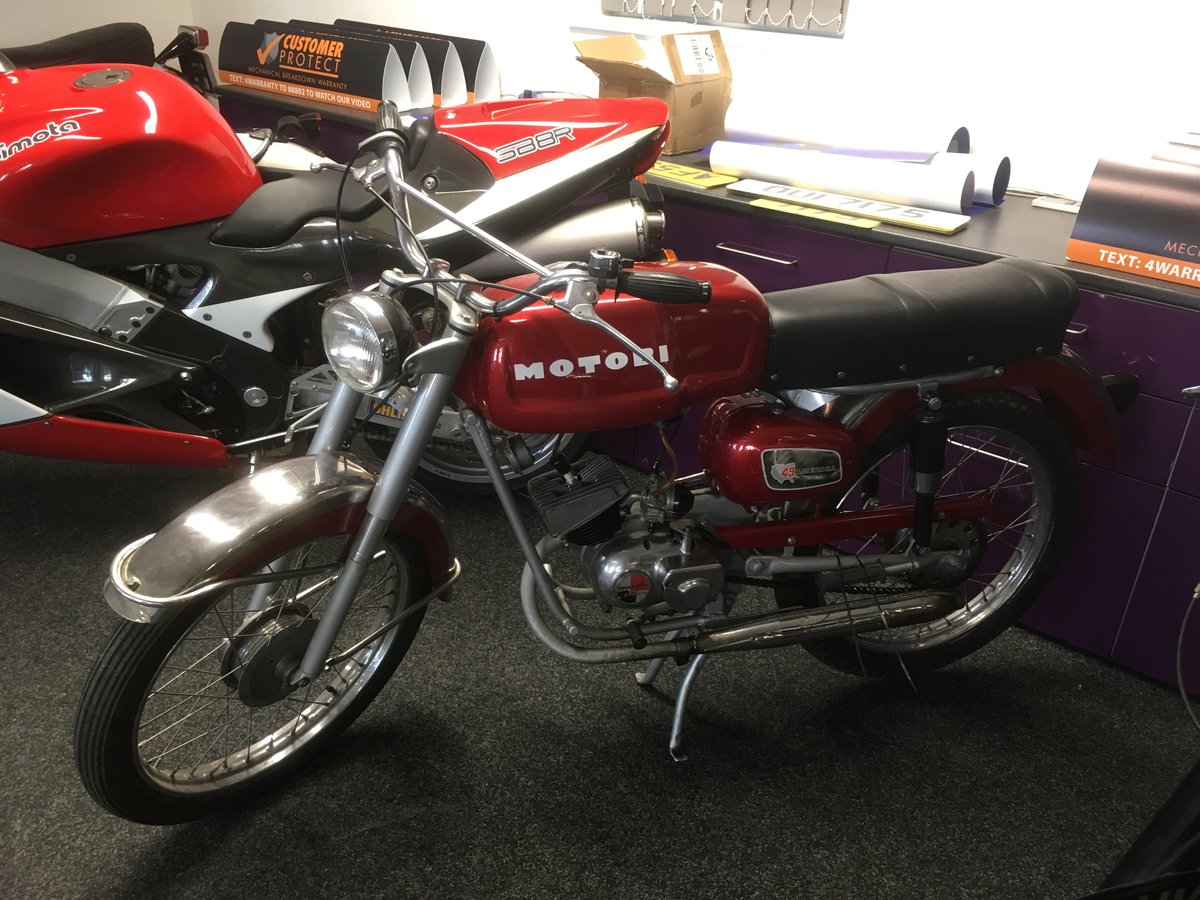 1968 Motobi Benelli 50cc For Sale (picture 6 of 6)