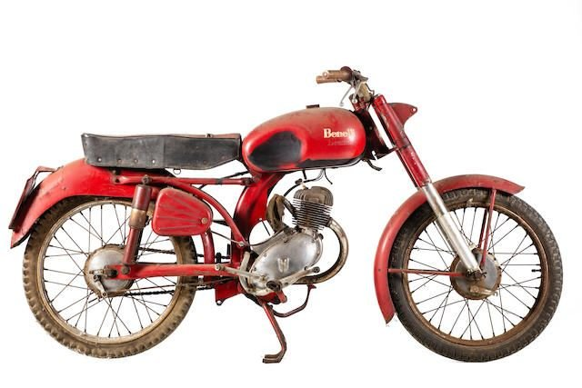 C.1956 BENELLI 125CC LEONCINO (LOT 561) SOLD by Auction (picture 1 of 1)