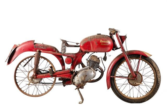 C.1955 BENELLI 125CC LEONCINO (LOT 566) SOLD by Auction (picture 1 of 1)