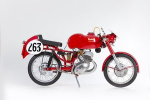 1957 BENELLI 125CC LEONCINO F3 RACING MOTORCYCLE (LOT 649)