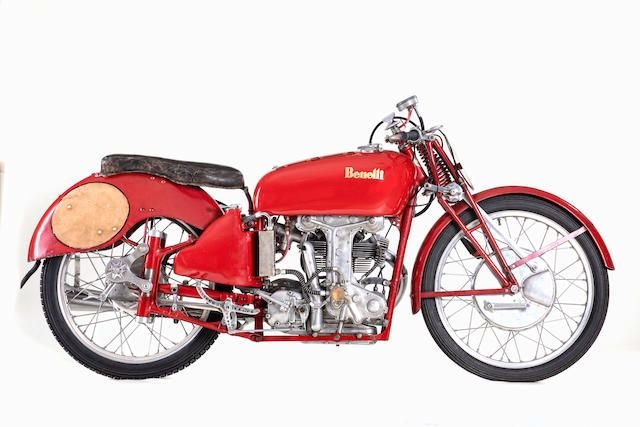 1950 BENELLI 250CC GRAND PRIX RACING MOTORCYCLE (LOT 678) SOLD by Auction (picture 1 of 1)