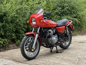 1983 Benelli 654 Project