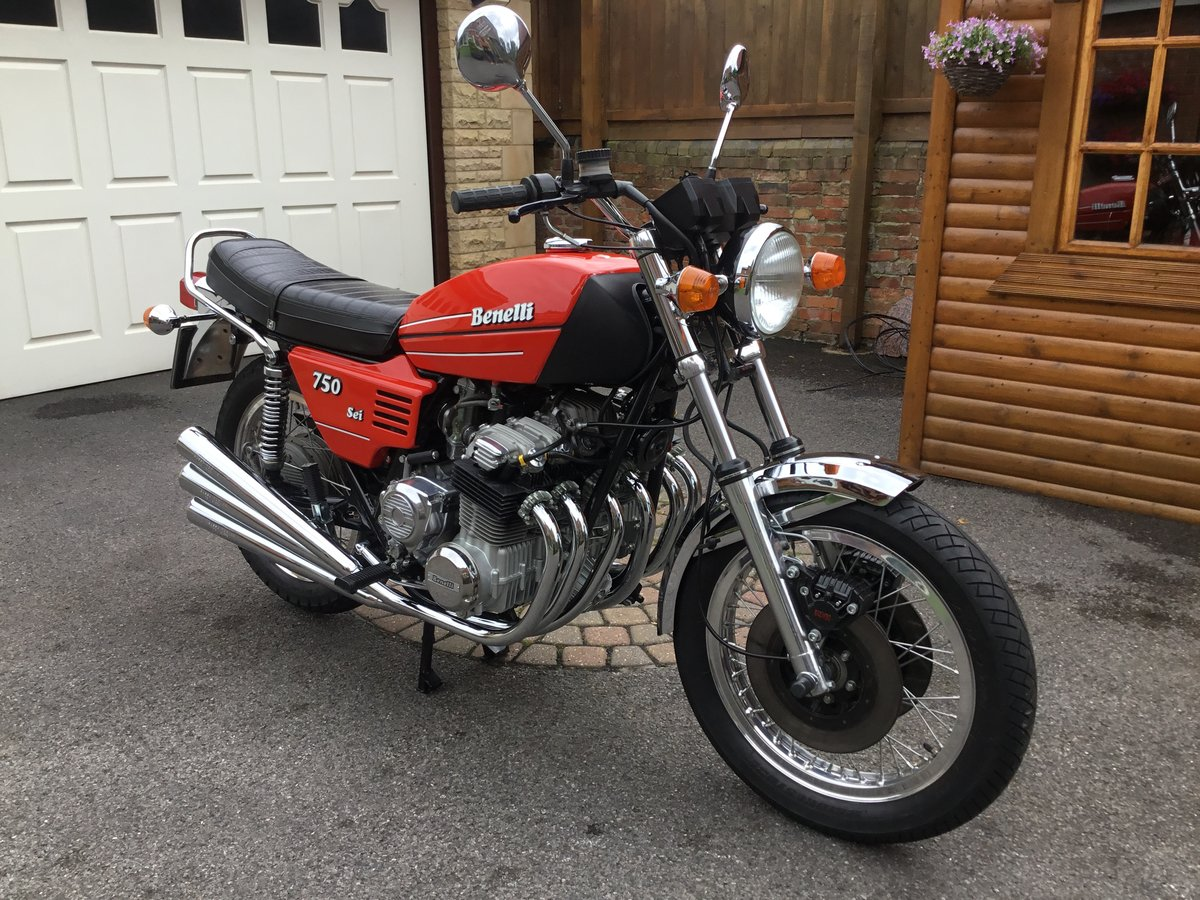 1976 BENELLI 750 SEI. VERY RARE INDEED,CONCOURS! For Sale (picture 1 of 6)