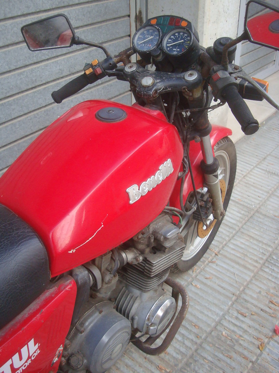 1983 Benelli 654 Sport For Sale (picture 5 of 6)