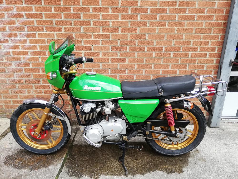 1981 Benelli 654 Quattro For Sale (picture 6 of 6)
