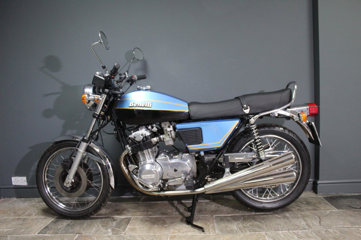 1977 Benelli Quattro Four Cylinder 500 cc  BEAUTIFUL For Sale (picture 1 of 19)