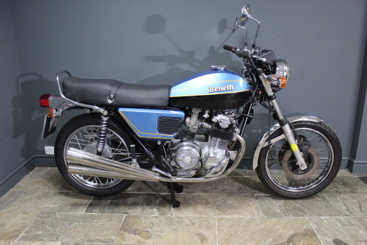 1977 Benelli Quattro Four Cylinder 500 cc  BEAUTIFUL For Sale (picture 12 of 19)