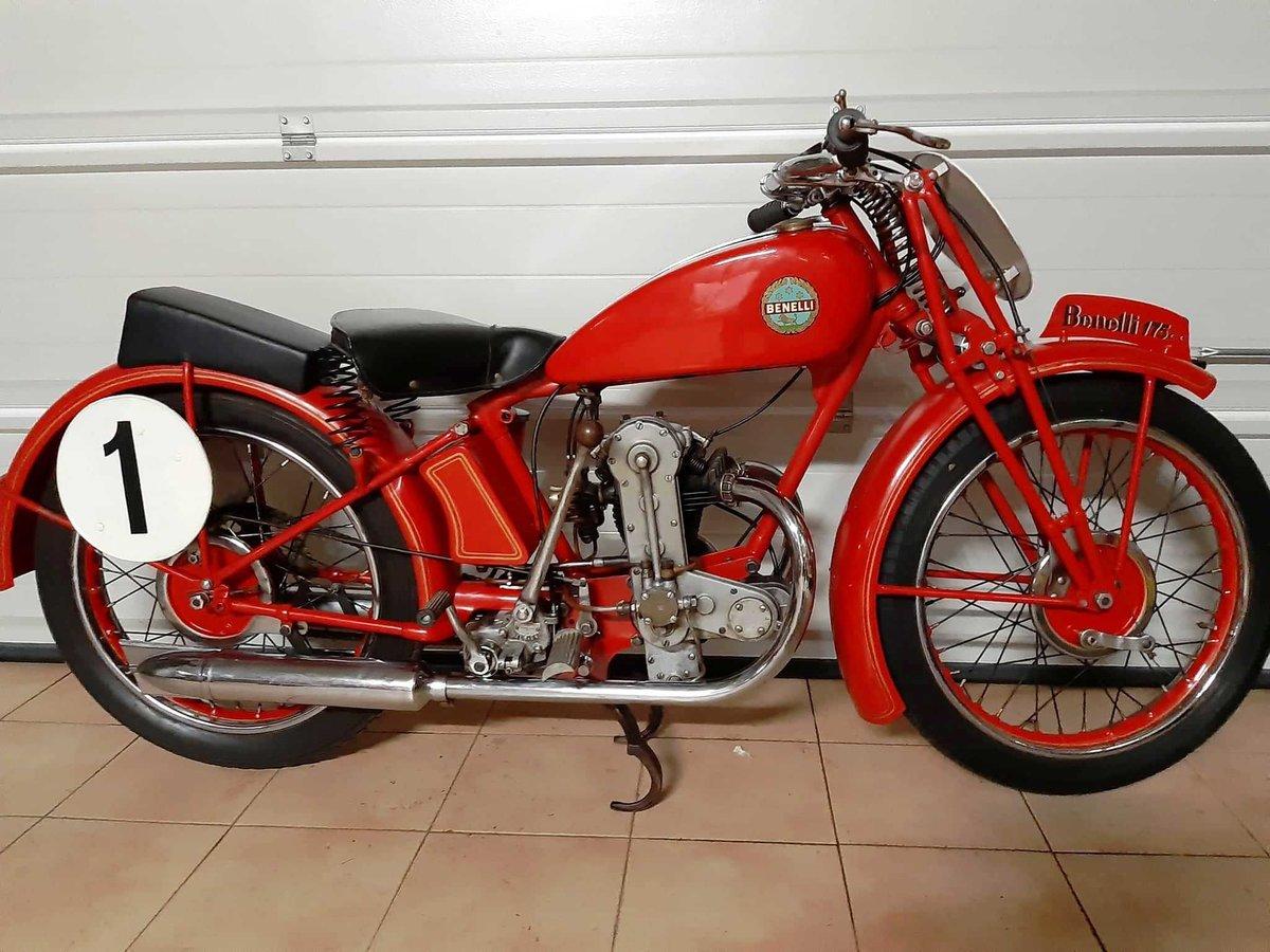 1934 Benelli 175 monoalbero corsa For Sale (picture 1 of 10)