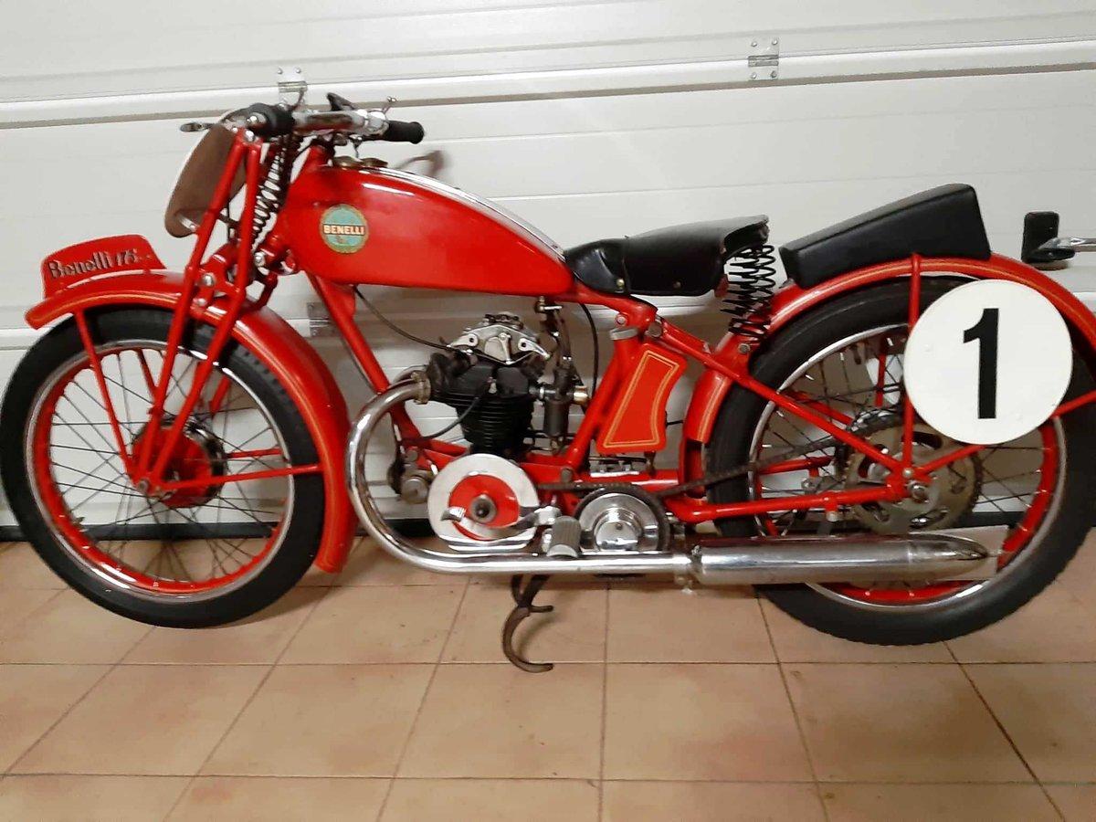 1934 Benelli 175 monoalbero corsa For Sale (picture 2 of 10)