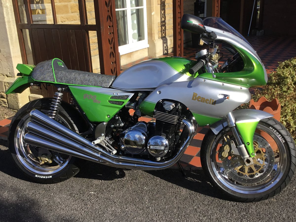 1989 BENELLI 900 SEI. COTINI RACING,ONE OFF SPECIAL For Sale (picture 1 of 12)