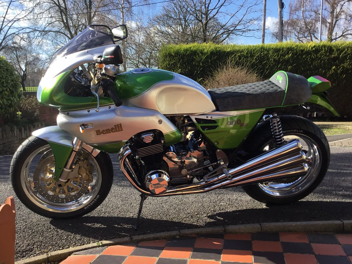 1989 BENELLI 900 SEI. COTINI RACING,ONE OFF SPECIAL For Sale (picture 2 of 12)