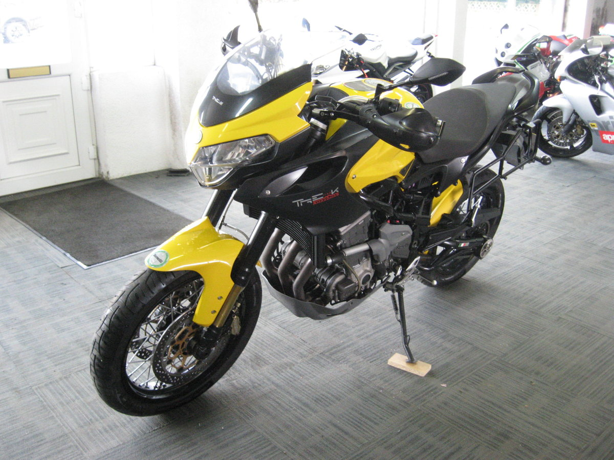 2012 12-reg Benelli Tre 1130 K AMAZONAS Finished in yellow For Sale (picture 3 of 12)