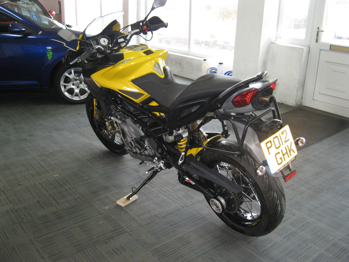 2012 12-reg Benelli Tre 1130 K AMAZONAS Finished in yellow For Sale (picture 5 of 12)