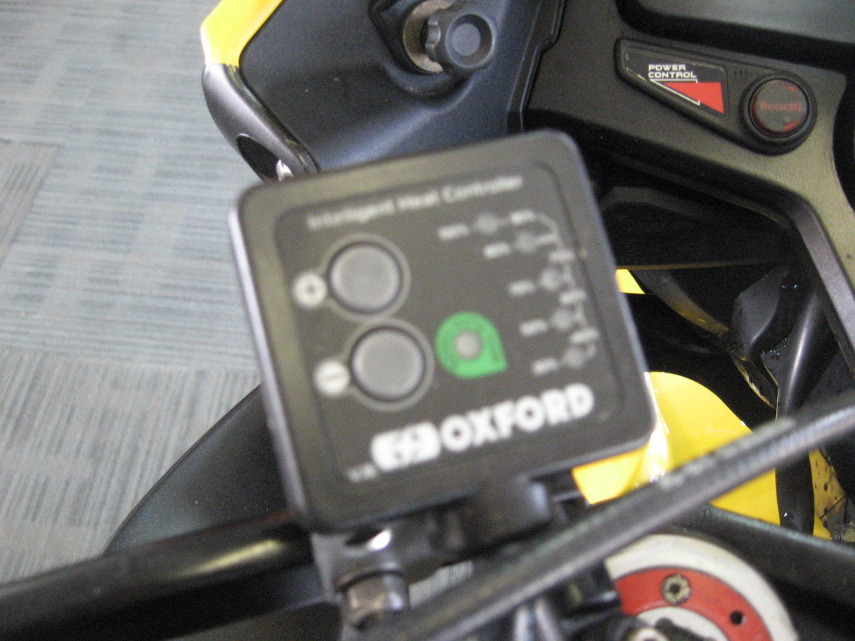 2012 12-reg Benelli Tre 1130 K AMAZONAS Finished in yellow For Sale (picture 8 of 12)