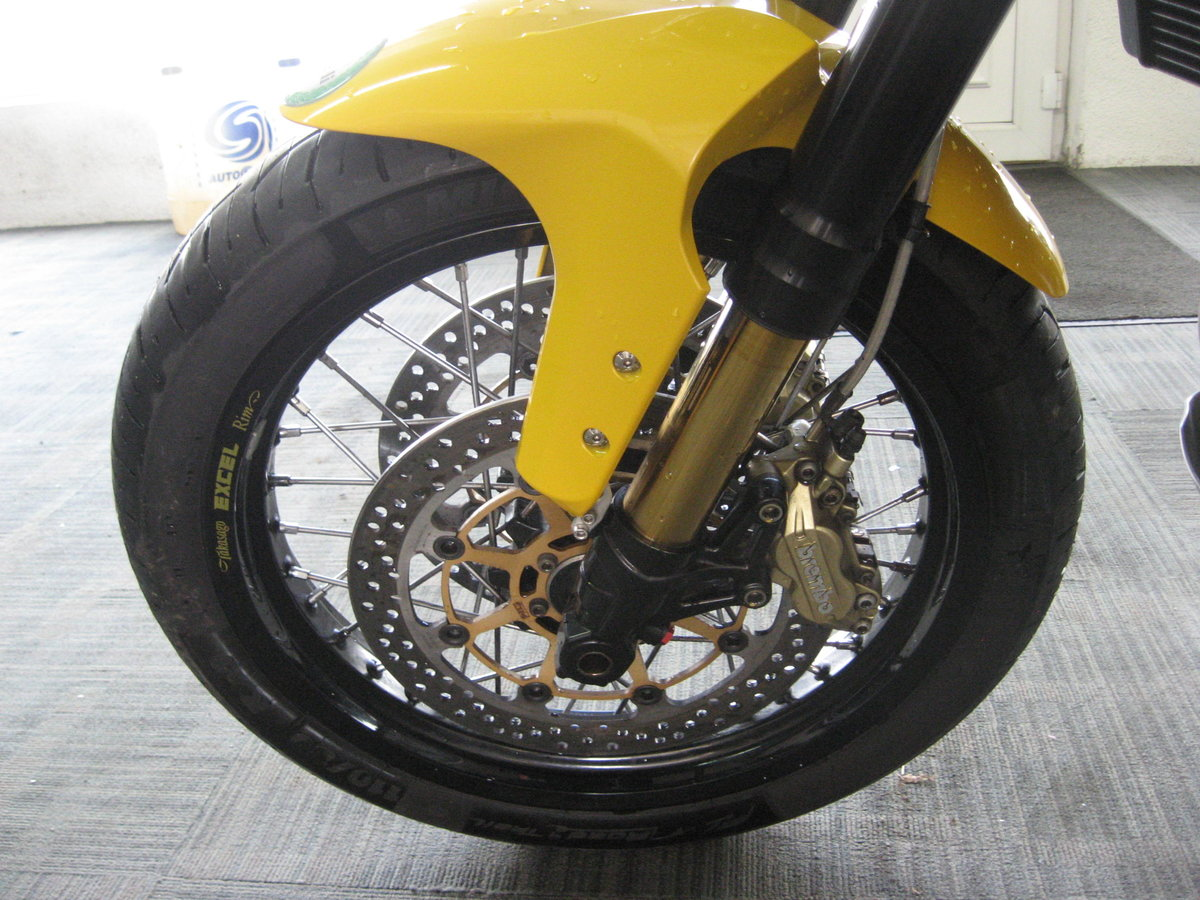 2012 12-reg Benelli Tre 1130 K AMAZONAS Finished in yellow For Sale (picture 9 of 12)