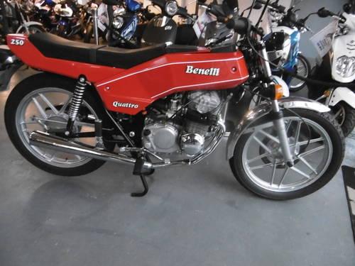 1979 Benelli 250 Quattro Full restoration  SOLD (picture 1 of 6)