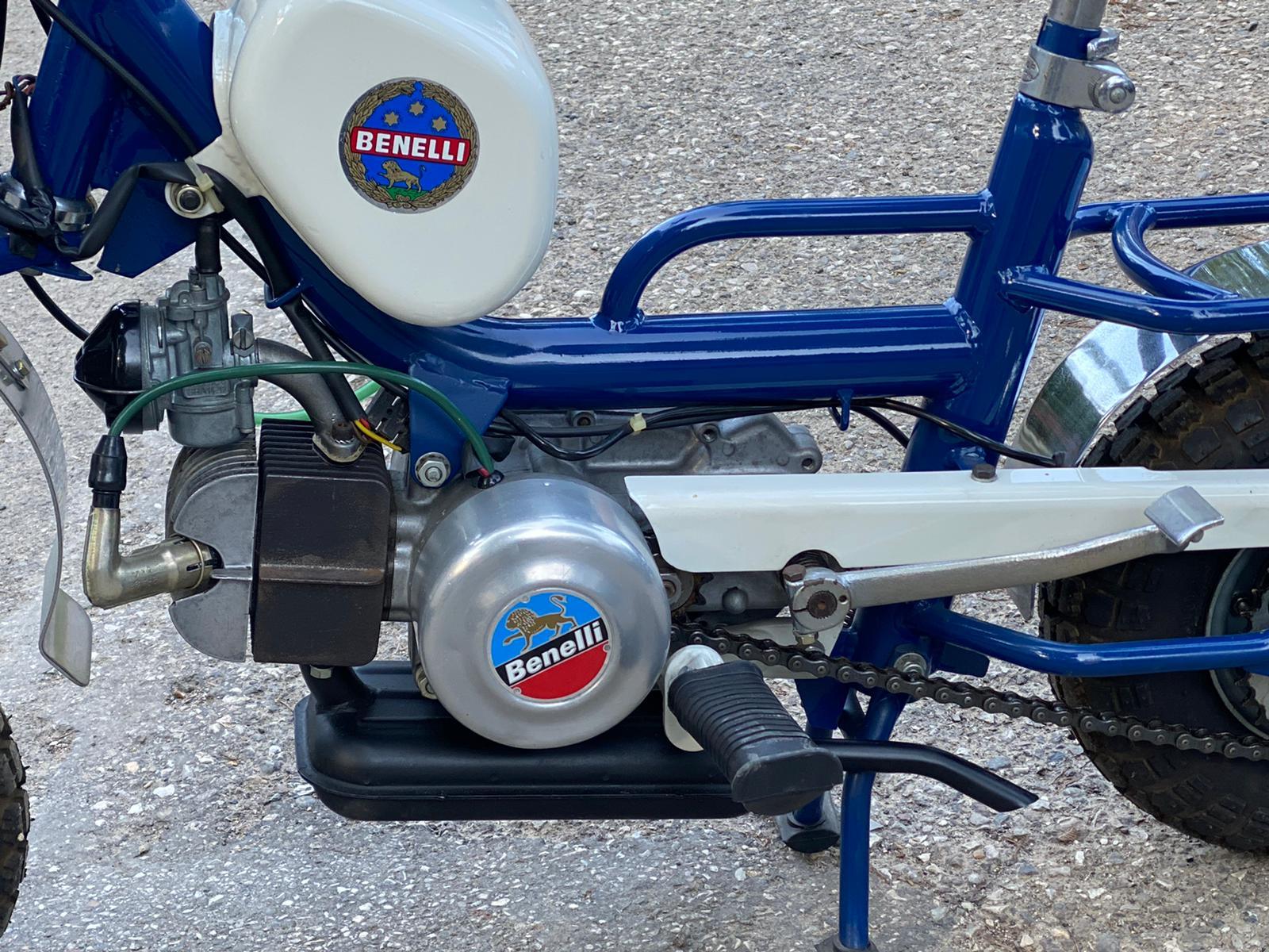 Benelli folding motorbike