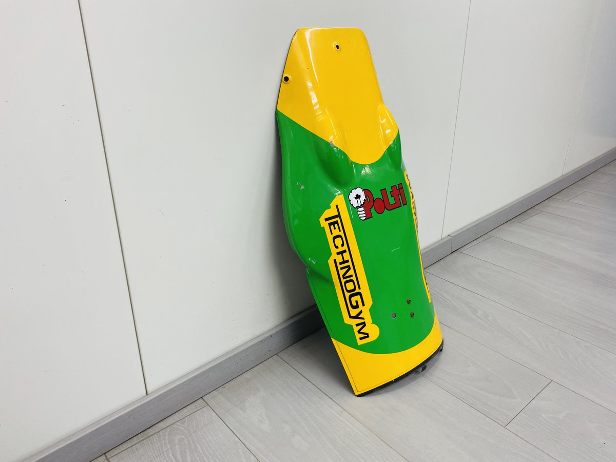 1993 Benetton B193 front nose Michael Schumacher For Sale (picture 3 of 6)