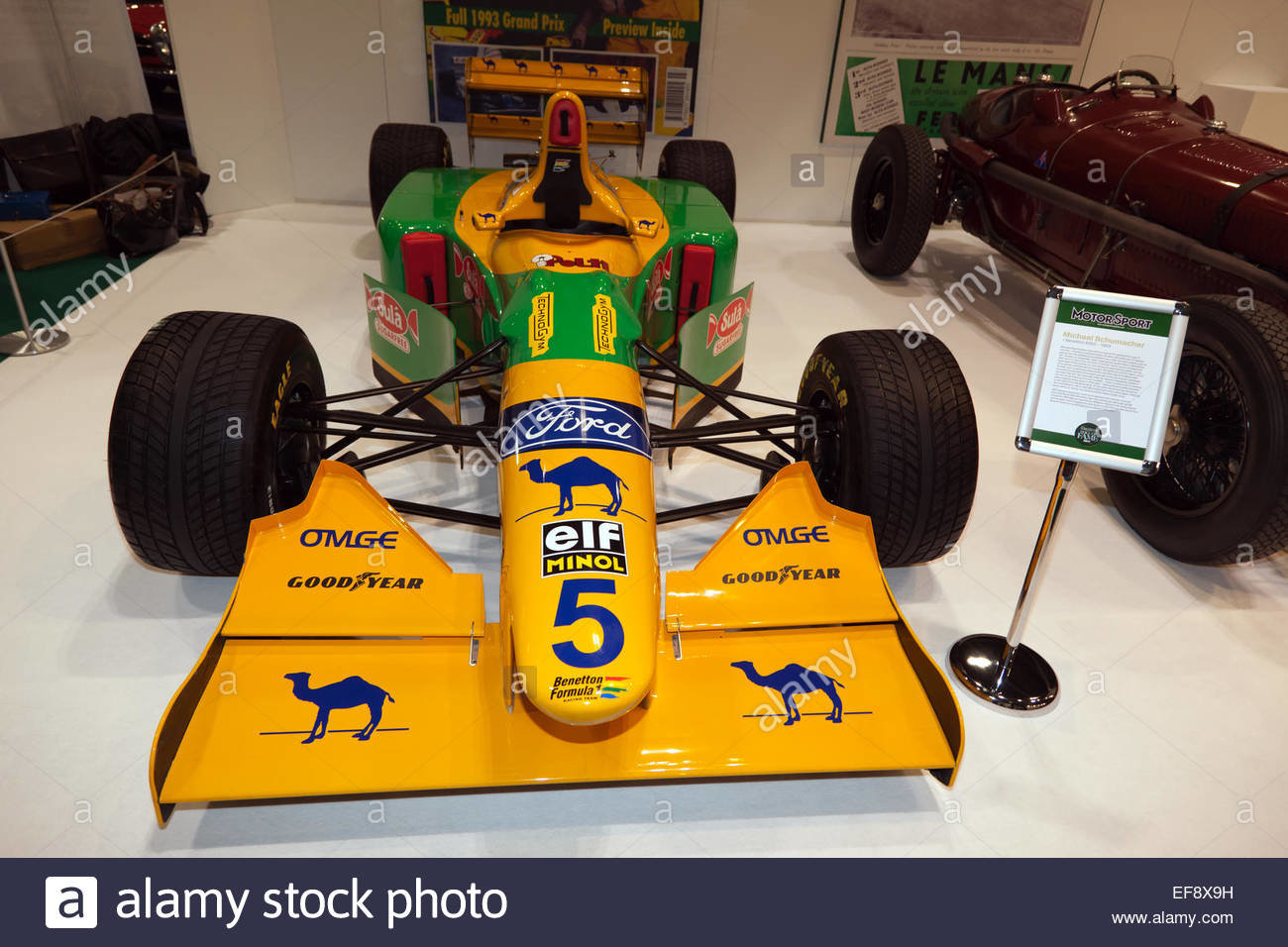 1993 Benetton B193 front nose Michael Schumacher For Sale (picture 6 of 6)