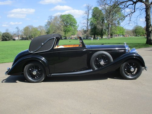 1938 Bentley 4 1/4 Litre Sedanca Coupe by Gurney Nutting For Sale (picture 1 of 1)