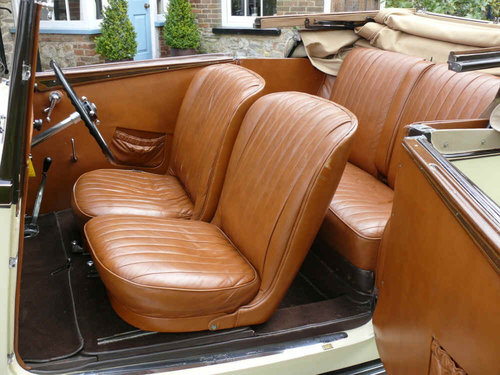 1934 3 ½ litre Derby Bentley Convertible by Park Ward  For Sale (picture 6 of 6)
