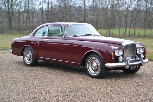 1963 Bentley S3 Continental Coupe For Sale (picture 1 of 6)