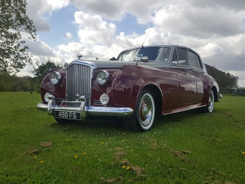 1956 Bentley S1 Price reduced and Personal plate now included. For Sale (picture 1 of 6)