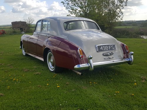 1956 Bentley S1 Price reduced and Personal plate now included. For Sale (picture 2 of 6)