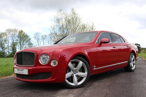 2016 Bentley Mulsanne SPEED For Sale (picture 1 of 6)