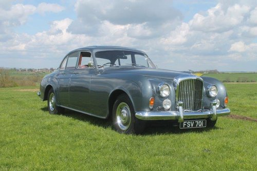 1960 BENTLEY S2 CONTINENTAL SPORTS SALOON Coachwork by JAMES For Sale (picture 1 of 6)
