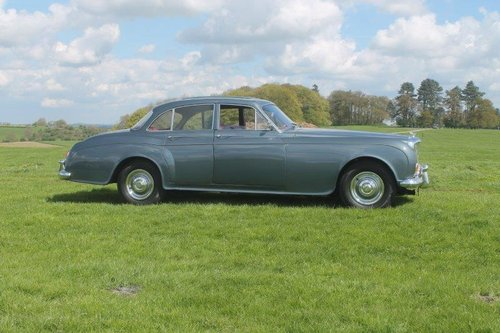 1960 BENTLEY S2 CONTINENTAL SPORTS SALOON Coachwork by JAMES For Sale (picture 2 of 6)