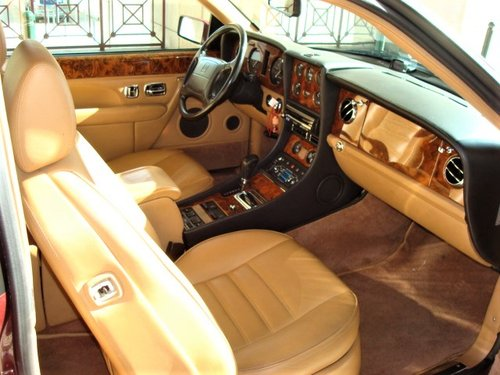 1996 Bentley Continental R Coupe SOLD (picture 3 of 6)