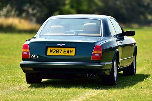 1994 BENTLEY CONTINENTAL R COUPE SOLD (picture 2 of 6)