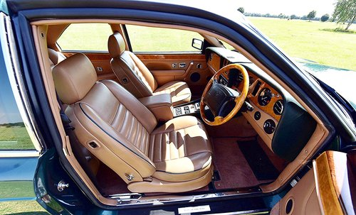 1994 BENTLEY CONTINENTAL R COUPE SOLD (picture 4 of 6)